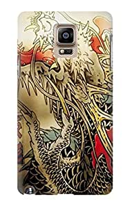 S0122 Yakuza Tattoo Case Cover For Samsung Galaxy Note 4
