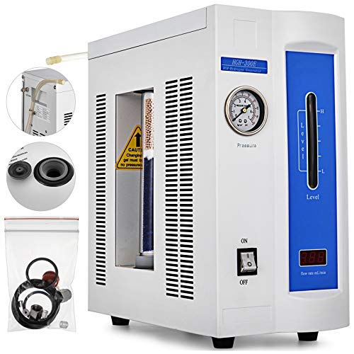 Geindus Hydrogen Gas Generator 0-500ML One-Minute Lab Research High Purity Hydrogen Gas Generator LED Flow Display