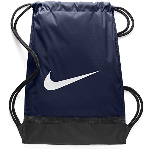 Nike Brasila GymSack Grey with Zipper