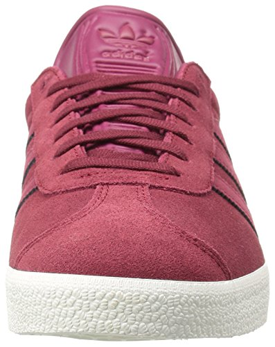 adidas Gazelle - BZ0035 - Collegiate Burgundy/Mystery Ruby/Metallic Gold