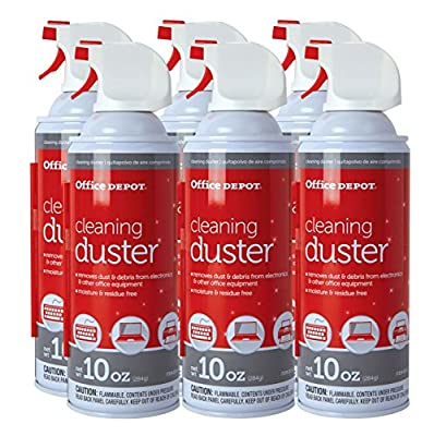 Office Depot Cleaning Duster, 10 Oz, Pack of 6, UDS-10MS-P6 from Office Depot