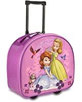 Disney Store Princess Sofia the First & Amber Rolling Luggage/Carry-On Suitcase