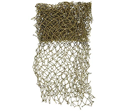 Thе Nаuticаl Plаcе Outdoor Garden Backyard Décor Decorative Fish Net (Size May Vary) ()