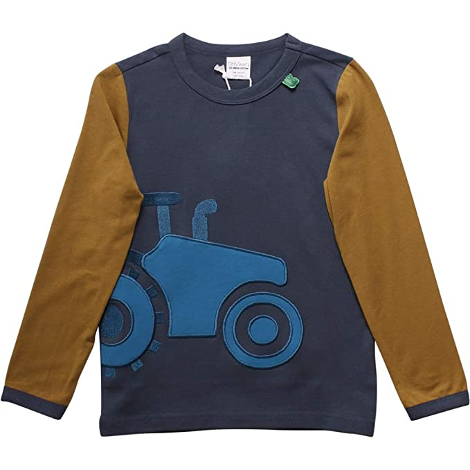 Freds World by Green Cotton Tractor Front T Camiseta para Niños ...