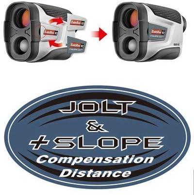 Caddytek Golf Laser Rangefinder with Slope and Jolt Function