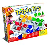 Small World Toys Triple Try Shape Game