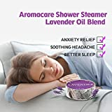 Shower Steamers for Men and Women 6 Packs, Lavender and Eucalyptus Essential Oil Vapor Tablets, Bath Bombs for Aromatherapy, Sinus and Stress Relief, Great Gifts for Him or Her