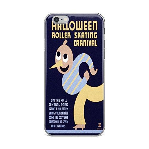 Vintage poster - Halloween Roller Skating Carnival 0145 - iPhone 6 Plus/6s Plus Phone Case]()