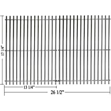 Hisencn Grill Cooking Grid Grates Replace for Master Forge 1010037 and Nexgrill 720-0719BL, Broil King Baron 320, 440, BroilMate 7120-64, Charbroil 463241113, 463411512, 463449914, Huntington 6120-64