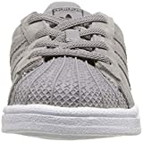 adidas Originals Baby Superstar EL Running Shoe, ch