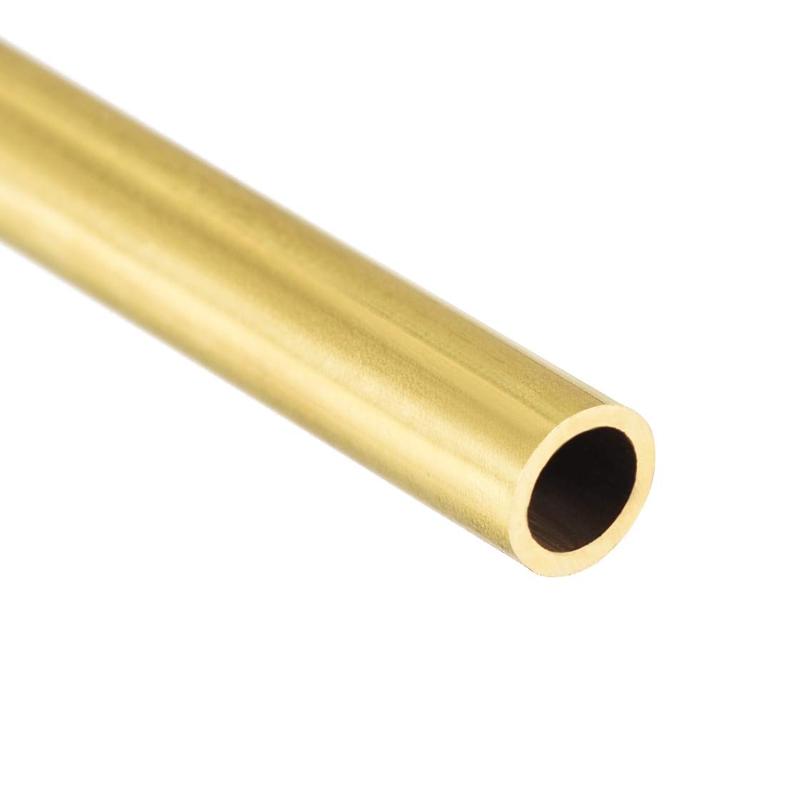 uxcell Brass Round Tube 300mm Length 4mm OD 0.5mm Wall Thickness Seamless Straight Pipe Tubing