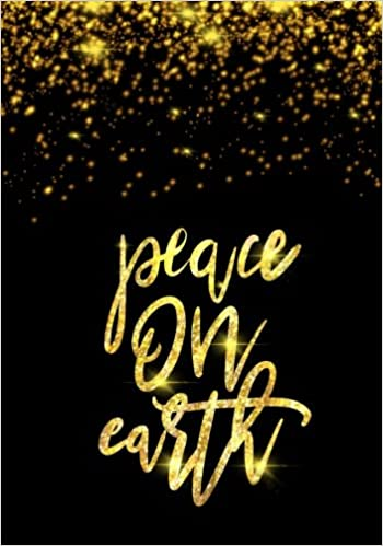 Christian Christmas.Peace On Earth Christmas Journal Christian Christmas