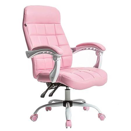 Amazon De Liulife Drehstuhl Pu Leder Stuhl Home Office Swivel