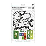 docrafts Xcut Build-A-Scene Dies-Shadow Box Forest, 6-Pack