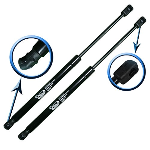 Two Rear Hatch Gas Charged Lift Supports for 2008-2014 Dodge Grand Caravan With Power Hatch, 2008-2014 Chrysler Town & Country With Power Hatch. Left and Right Side. LSC-0477-2