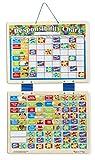 apple behavior chart - Melissa & Doug Magnetic Responsibility Chart