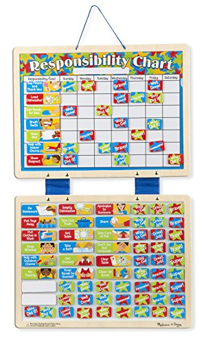 Melissa & Doug Magnetic Responsibility Chart (Kids Good Behavior Chart compare prices)