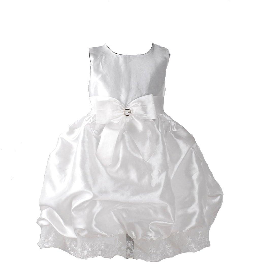 Cinda White Christening Party Dress