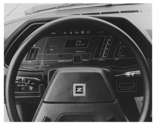 1983 Datsun 280ZX Instrument Display Automobile Photo Poster