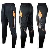 Ibuyfun Chándal de entrenamiento de fútbol de los hombres sudor flaca  pantalones casuales pantalones de deporte 6087006330082