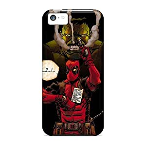 LisaMichelle Snap On Hard Case Cover Hulk And Deadpool Protector For Iphone 5c