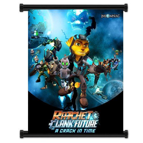 Wall Scrolls Ratchet & Clank Future: A Crack In Time Game Fabric Poster (16