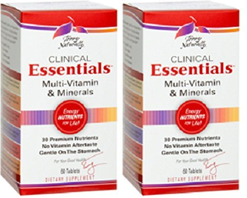 Terry Naturally/Europharma Clinical Essentials -60 Tablets -2 Pack (Essentials 60 Tablets)