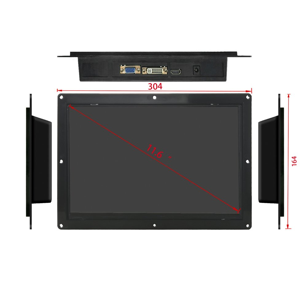 11.6†HD Open Frame LCD Commercial Advertising Display Screen by Playerman (Image #4)
