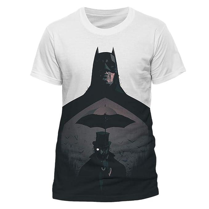 4db04b75d Batman Penguin The Dark Knight DC Comics Oficial Camiseta para Hombre  (Small)