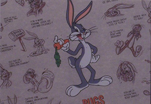 "Bugs Bunny in Classic Pose Warner Bros. Artwork. Ltd. Run Mini Print Custom Matted to 8"" x 10"" from Looney Tunes"