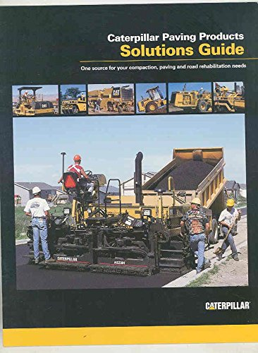 2001 Caterpillar Vibratory Road Roller Paver Construction Brochure