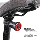 Smart Bicycle Taillight with Seatpost