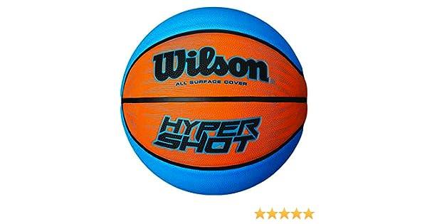 SALOMON Hyper Shot I Balón, Azul/Naranja, 7: Amazon.es: Deportes y ...