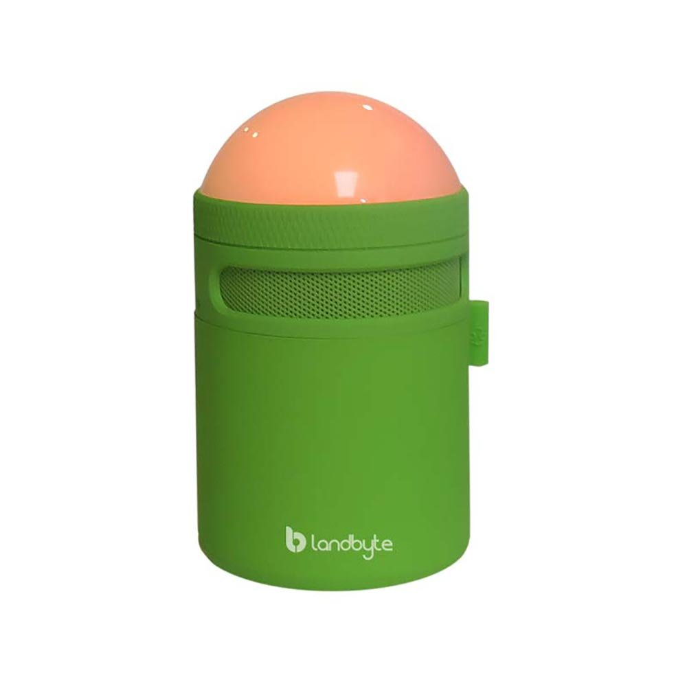 LANDBYTE LED Amp Bluetooth Wireless Speaker LB-310 GREEN All Smart Phones And Computers Compatible Mini Portable Outdoor Waterproof Shockproof