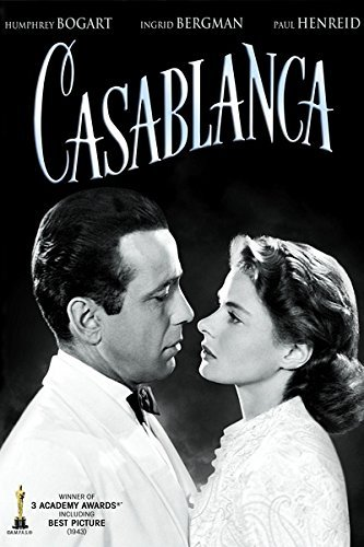 Image result for casablanca movie poster