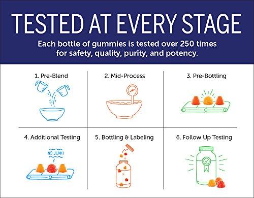 SmartyPants Adult Complete and Fiber Daily Gummy Vitamins: Multivitamin, Inulin Prebiotic Fiber & Omega 3 Fish Oil (DHA/Epa Fatty Acids), Non-GMO, 15 Count (15 Day Supply) by SmartyPants Gummy Vitamins (Image #7)
