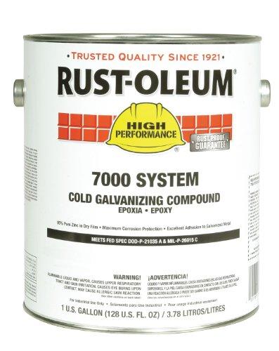 RUST-OLEUM Cold Galvanizing Compound Gray 1 gal.