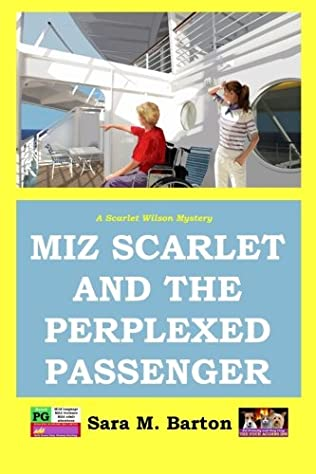 book cover of Miz Scarlet and the Perplexed Passenger