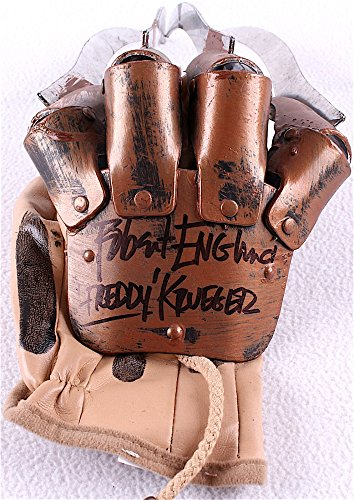 """Robert Englund Signed A Nightmare on Elm Street Freddy Krueger Replica Glove Inscribed """"Freddy"""" Englund & PA COA from Signature Dog Autographs"""