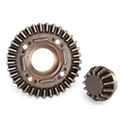 Traxxas 8579 Rear Differential Ring and Pinion Gears, Silver: Toys & Games