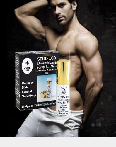 STUD 100 DESENSITIZ ING SPRAY FOR MEN AIDE Pour retarder l'éjaculation