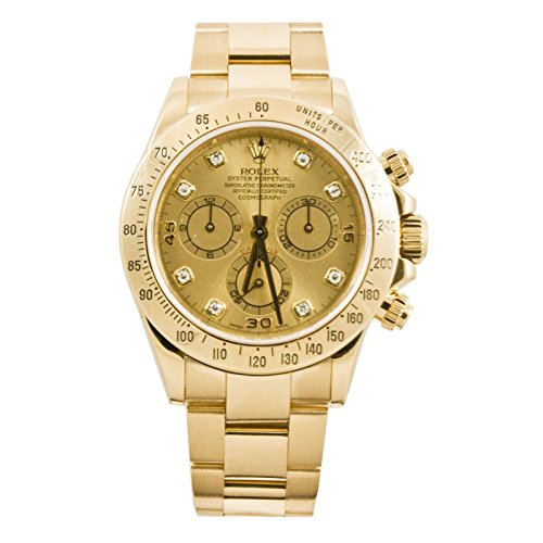 Rolex Daytona automatic-self-wind mens Watch 116528PCD (Certified Pre-owned)