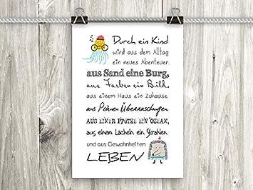 Artissimo Poster Mit Spruch Din A4 Pe0101 Dr Durch Ein