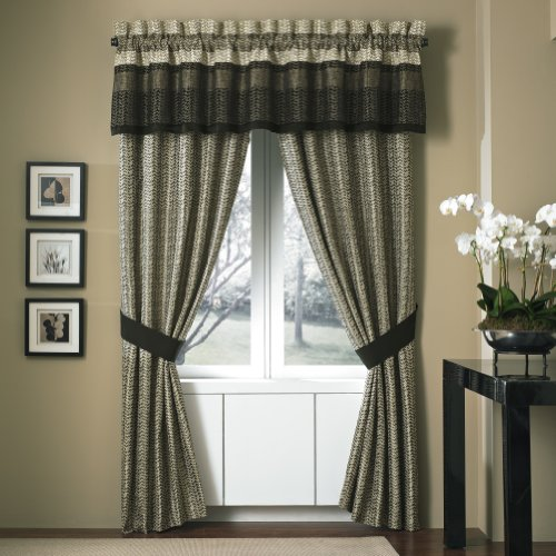 Croscill Portland Tailored Valance, 88 by 17-Inch
