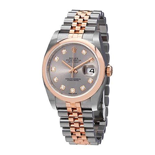 Rolex Datejust 36 Automatic Diamond Ladies Watch 116201GYDJ