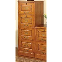 Coaster Home Furnishings 5318N Traditional File Cabinet, Oak