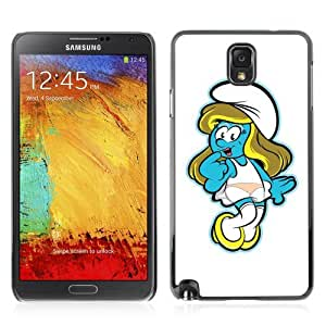 Designer Depo Hard Protection Case for Samsung Galaxy Note 3 N9000 / Cute Smurf Girl