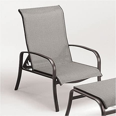 Amazon.com: Pacific Sling Adjustable Lounge Chair Finish ...