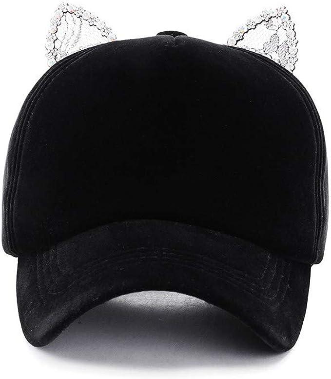 Gorra de béisbol para Mujer Hip Hop Ajustable Rendimiento Curva ...