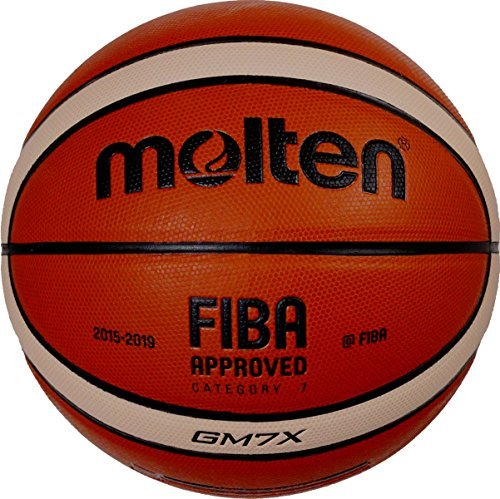 Molten Gm7 Indoor/Outdoor Playing Basketball Match Ball Official Size 7 (Best European Basketball Players)
